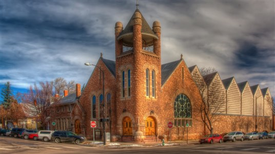 FUMC Boulder photo by Richard Saxon