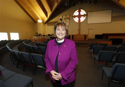 Photo of Bishop Oliveto at St. Luke's UMC in Highlands Ranch, CO