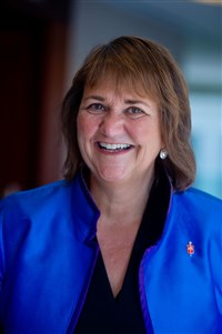 Photo of Bishop Karen Oliveto