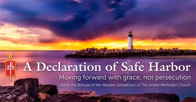 Graphic for WJ bishops statement on offering Safe Harbor