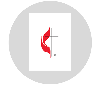 Graphic of the United Methodist Cross & Flame