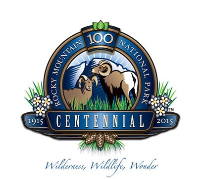 Rocky Mountain National Park 100th Logo