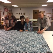 Vineland UMC crafts prayer blankets for those in need