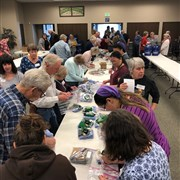 Volunteers assemble nearly 200 kits at Johnstown UMC for UMCOR relief