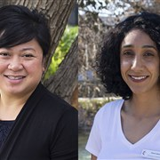 Staff transitions: Betty Nguyen and Diana Aqra