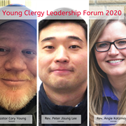 Rev. Peter Jisung Lee, Pastor Cory Young and Rev. Angie Kotzmoyer to represent Mountain Sky Conference at Young Clergy Leadership Forum in Washington, D.C.