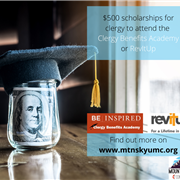 Scholarships available for the Clergy Benefits Academy or RevItUp