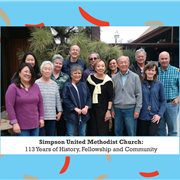 Simpson United Methodist Church: 113 years of history, fellowship, and community