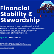 Responsible Stewardship: March 30, 2020 Webinar (Finances/MSC Foundation)