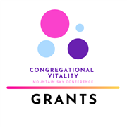 Congregational Vitality grants available (deadline of Sept. 30, 2020)