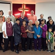 Zion United Methodist Fellowship remembers ministry at closing worship