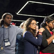 Youth, young adult delegates give Statement of Unity