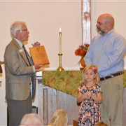 Northglenn UMC honors Rev. Ron Hodges for ministry, service