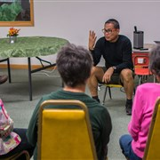 Missionary Ken Cruz visits conference churches to educate, advocate