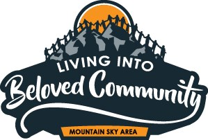 Graphic for Living into Beloved Community